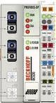 """德国倍福 Profibus DP-光纤接口的""""经济增强型""""总线耦合器"""