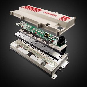 该功率电子模块有两种拓扑结构:igbt模块适用