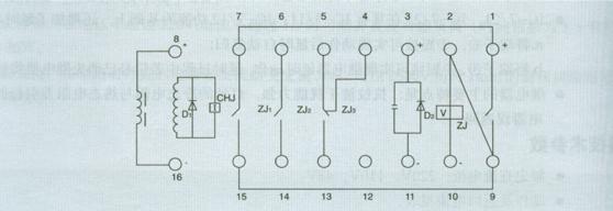 上继zc-23型冲击信号继电器