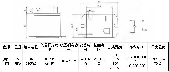 空调电磁继电器