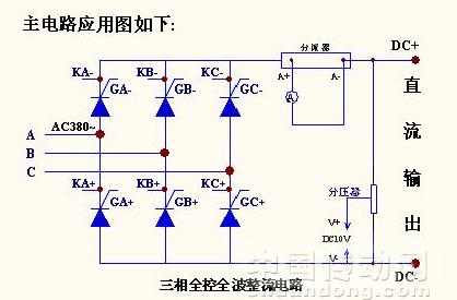三相全控整流可控硅触发板