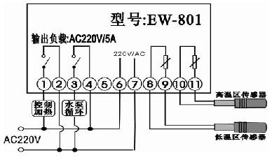 伊尼威利 太阳能温差,温度控制器