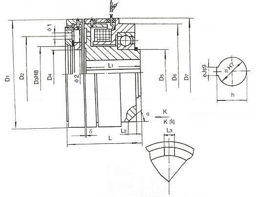 dly3系列电磁离合器dly3-25a dly3-41a