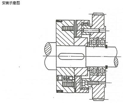 电磁离合器-供应dly5牙嵌式电磁离合器(图)-电磁离合