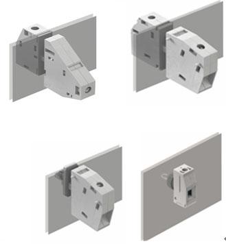而壳体的内部接线方式根据应用的不同可选择压线框接线方式,螺柱接线