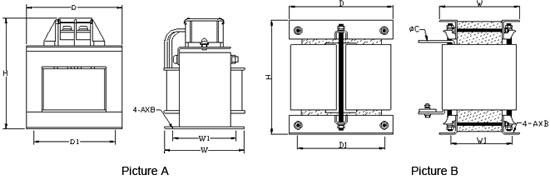 直流电抗器(外挂)