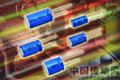此新系列极化铝电解电容器具有非固态,自修复的电解质以及