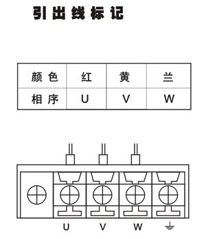 众为兴 56byg系列三相步进电机; 110byg系列三相步进电机接线图; 56