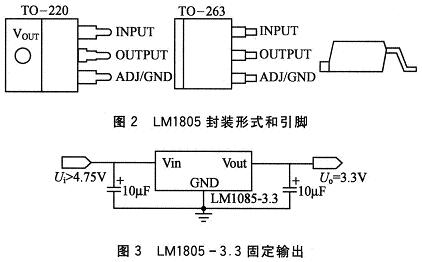 lm1085是一款典型的低压差线性稳压集成电路,输入输出电压差低