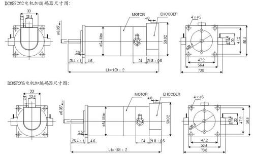 雷赛dcm直流伺服电机系列