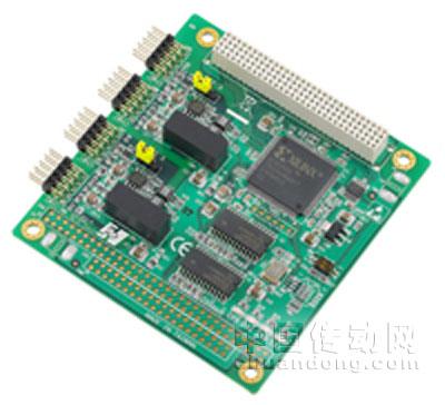 研华发布2口can总线pci-104通讯模块——pcm-3680i