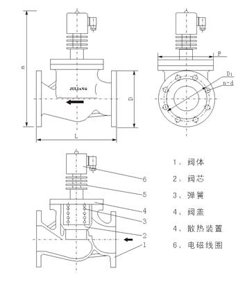 空调高压阀结构图_空调高压阀结构图分享展示图片