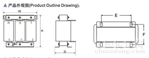 安采电气 交流输入电抗器ac-jacl系列