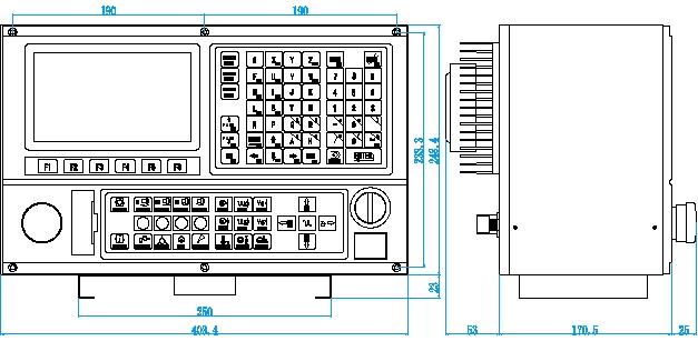 数控车床上的四插继电器接线图
