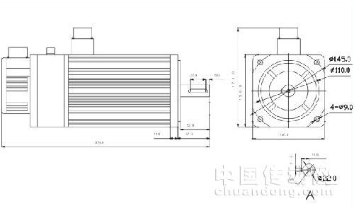 日本安康伺服电机与编码器接线图