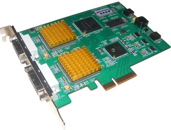 维视 MV-DVI420E双路DVI采集卡