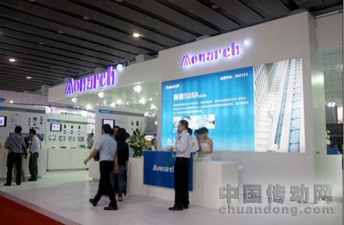 黙纳克领先技术竞秀2012中国国际电梯展