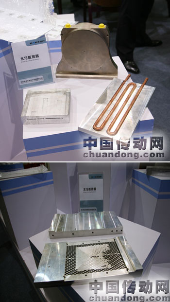 水冷散热器也是鹰峰科技今年最新产品