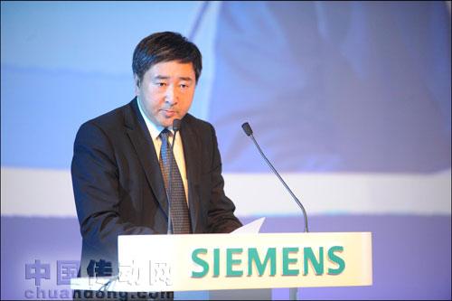 西门子工业业务领域驱动技术集团大型传动部总经理付强